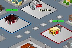 Флеш игра - Город посетителя