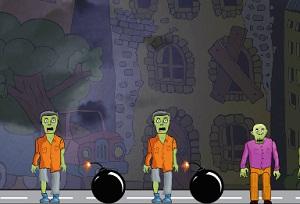Игра Взрываем зомби