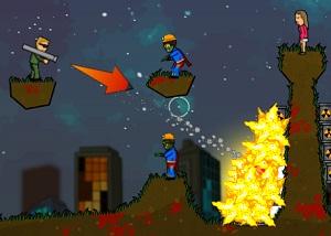 Игра Огненная Зомбука 2