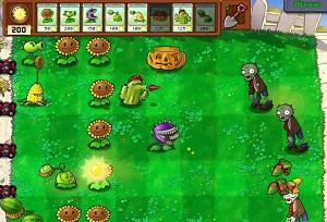 Флеш игра - Растения против зомби