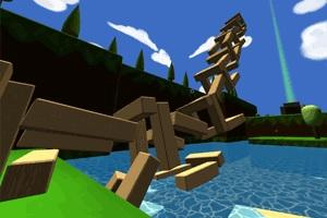 Флеш игра - Строительство из блоков