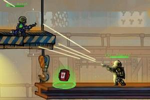 Флеш игра - Герои ударного отряда