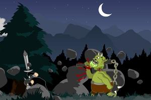 Флеш игра - Повышение рыцаря