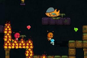 Флеш игра - Огненная божья коровка