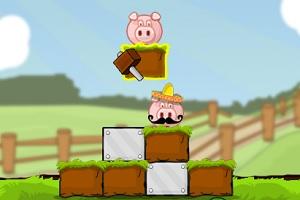 Игра Спасение свиньи