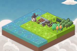 Флеш игра - Маленький остров