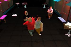 Флеш игра - Драка в баре