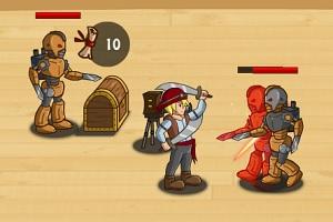 Флеш игра - Сундук пирата