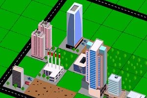 Флеш игра - Строительство города 2