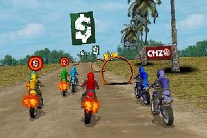 Игра Пустынные гонки