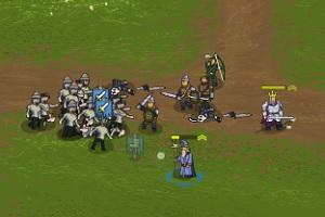 Флеш игра - Королевская война