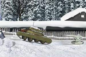 Игра Зимний танк
