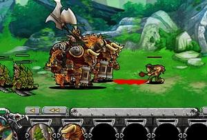 Флеш игра - Эпическая война 5