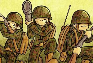Флеш игра - Крутая армия
