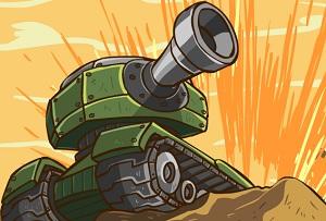 Флеш игра - Война танков