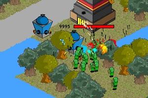 Флеш игра - Стратегия защиты