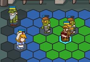 Флеш игра - Тактика зомби