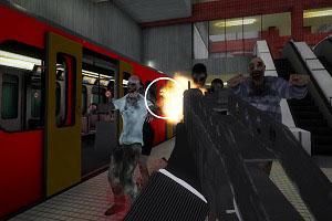 Флеш игра - Зомби в метро