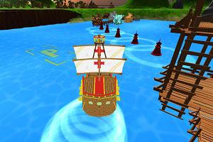 Флеш игра - Причал для корабля