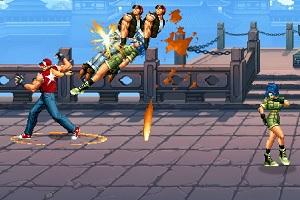 Флеш игра - Король борцов