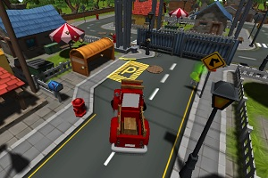 Парковка грузовиков 3D