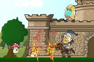 Флеш игра - Замок рыцаря