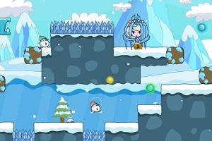Флеш игра - Спасение снежной Эльзы