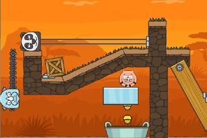 Игра Свинья в луже 2
