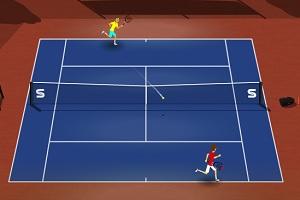 теннис играть онлайн мышкой