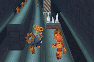 Флеш игра - Subway Robo Runner