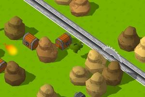 Флеш игра - Froggy Crosses
