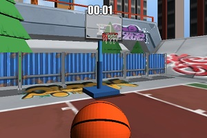 Игра Баскетбольный мяч