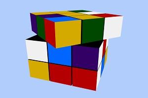 Игра Кубик Рубика 0D