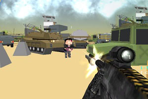 Флеш игра - Вражда военных 3D