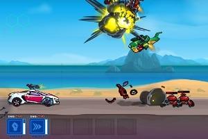 Игра Robo Racing 2