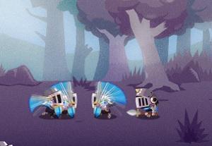 Флеш игра - Лига Короля: Одиссея