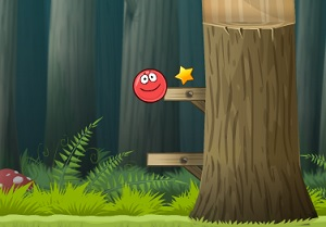 Флеш игра - Красный шар 4