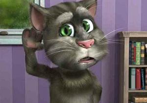 Флеш игра - Говорящий кот Том 2