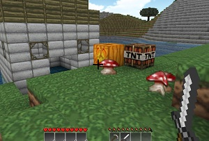 Флеш игра - Майнкрафт креатив