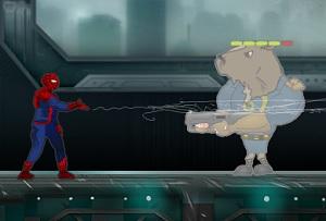 Флеш игра - Новый Человек паук
