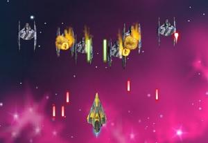 Флеш игра - Звездные войны леталки