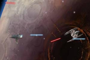 Флеш игра - Войны клонов в космосе
