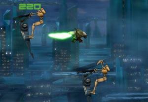 Флеш игра - Звездные войны: Бой Йоды