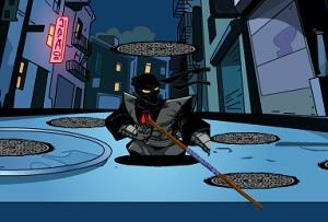 Игра Черепашки шпион получи и распишись ловкость