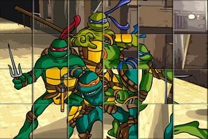 Игра Черепашки ниндзя: Пазл