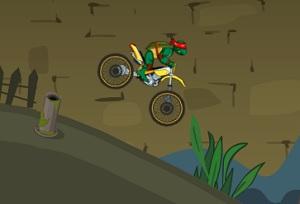 Игра Гонки получи и распишись мотоцикле