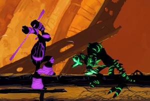 Игра Темная сторона ниндзя