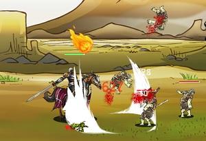 Флеш игра - Эпическая война 3