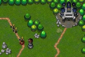 Флеш игра - Оборона крепости