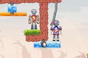 Игра Тротил для роботов